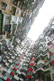 Hong kong apartment Royalty Free Stock Photos