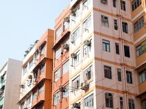 Hong Kong Apartments Stock Photography
