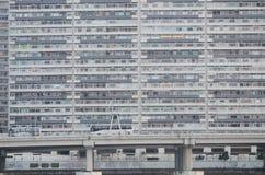 Hong Kong Apartments. Highrise buildings that don the city of Hong Kong Royalty Free Stock Photos