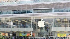 Hong Kong Apple lager Royaltyfri Bild