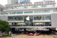 Hong Kong : Apple Store Royalty Free Stock Photos