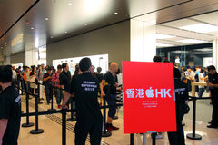 Hong Kong : Apple Store Images stock