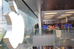 Hong Kong : Apple Store Royalty Free Stock Photography