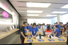 Hong Kong: Apple Store Immagini Stock