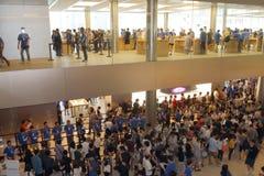 Hong Kong: Apple Store Lizenzfreie Stockfotos