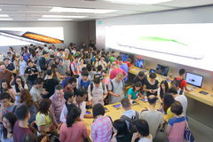 Hong Kong : Apple Store Stock Photography