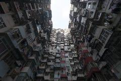 Hong Kong apretado fotos de archivo libres de regalías