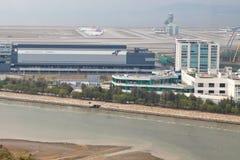 De Internationale luchthaven van Hong Kong Royalty-vrije Stock Fotografie