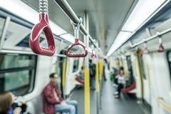HONG KONG - APRIL 2014: MTR underground station in Hong Kong. Ma Stock Image
