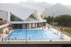 Openbaar zwembad Stock Afbeeldingen