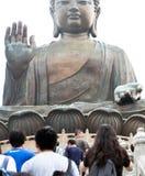 Jätte- Buddha Royaltyfri Foto