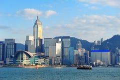 Hong Kong arkitektur Arkivbild