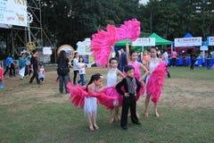 Hong Kong Arts 2014 dans l'événement de Mardi Gras de parc Photographie stock libre de droits