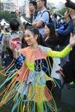 Hong Kong Arts 2014 dans l'événement de Mardi Gras de parc Photo libre de droits