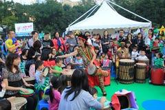 Hong Kong Arts in de gebeurtenis 2014 van Parkmardi gras Royalty-vrije Stock Foto's