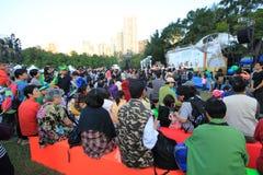 Hong Kong Arts in de gebeurtenis 2014 van Parkmardi gras Stock Afbeelding