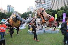 Hong Kong Arts in de gebeurtenis 2014 van Parkmardi gras Royalty-vrije Stock Afbeeldingen