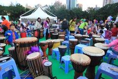 Hong Kong Arts in de gebeurtenis 2014 van Parkmardi gras Royalty-vrije Stock Afbeelding