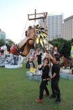 2014 Hong Kong Arts in de gebeurtenis van Parkmardi gras Royalty-vrije Stock Afbeelding