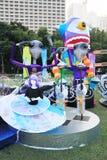 2014 Hong Kong Arts in de gebeurtenis van Parkmardi gras Stock Fotografie