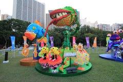Hong Kong Arts 2014 im Park-Mardi Gras-Ereignis Lizenzfreie Stockfotos