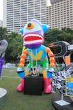 Hong Kong Arts 2014 im Park-Mardi Gras-Ereignis Lizenzfreie Stockfotografie