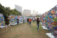Hong Kong Arts 2014 im Park-Mardi Gras-Ereignis Stockfotografie