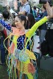 Hong Kong Arts 2014 nell'evento di Mardi Gras del parco Immagine Stock Libera da Diritti