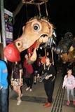 Hong Kong Arts 2014 nell'evento di Mardi Gras del parco Immagine Stock