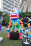 2014 Hong Kong Arts in the Park Mardi Gras event Royalty Free Stock Photography