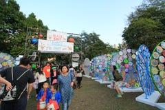 2014 Hong Kong Arts in the Park Mardi Gras event Stock Photos