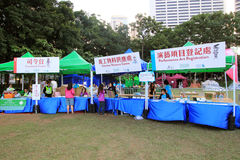 2014 Hong Kong Arts in the Park Mardi Gras event Stock Image