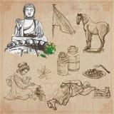 Hong Kong (as ilustrações do vetor embalam o nenhum 3) - Curso Foto de Stock Royalty Free