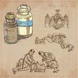 Hong Kong (as ilustrações do vetor embalam o nenhum 4) - Curso Fotografia de Stock