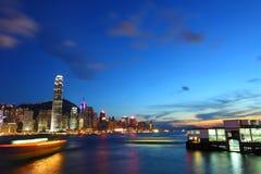 Free Hong Kong At Night Stock Photos - 20008573
