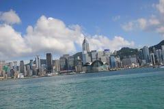 Hong Kong The Avenue av stjärnor Royaltyfria Foton