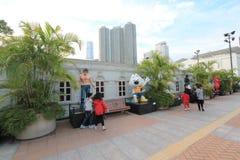 Hong Kong Avenue of Comic Stars Royalty Free Stock Image