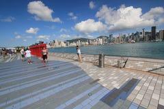 Hong Kong The Avenue das estrelas Fotos de Stock