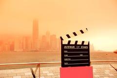 Hong Kong Avenue de estrellas Imágenes de archivo libres de regalías