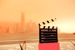 Hong Kong Avenue des étoiles Images libres de droits