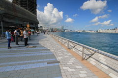 Hong Kong The Avenue des étoiles Photo libre de droits