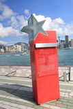 Hong Kong The Avenue des étoiles Image stock