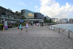 Hong Kong The Avenue des étoiles Images libres de droits