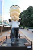 Hong Kong Avenue des étoiles comiques Images libres de droits