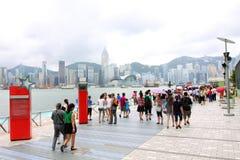 Hong Kong : Avenue of Stars Royalty Free Stock Images
