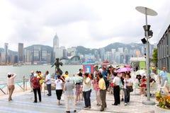 Hong Kong : Avenue of Stars Royalty Free Stock Photography