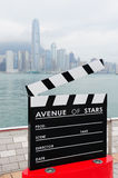 Hong Kong Avenue of Stars Royalty Free Stock Photo