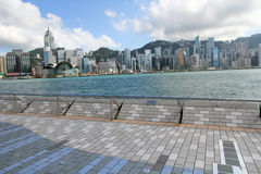 Hong Kong The Avenue of Stars Stock Photography