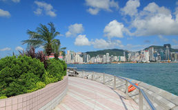 Hong Kong The Avenue of Stars Royalty Free Stock Photography