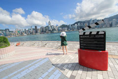Hong Kong The Avenue of Stars Stock Photos